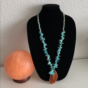 Gemstone necklace New from BARSE 31 - 34-1/2 inch